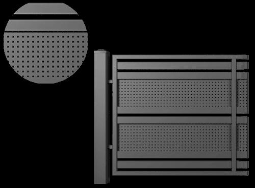 zaun-modern